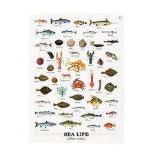 Sea Life Tea Towel