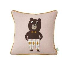 Kids Bear Cotton Throw Pillow