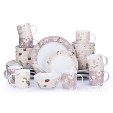 Natural Blossom 32 Piece Dinnerware Set