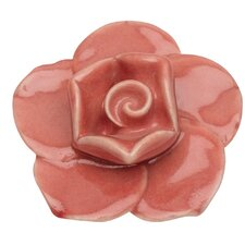 Nature Flower Ceramic Novelty Knob