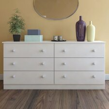 Paducah 6 Drawer Dresser
