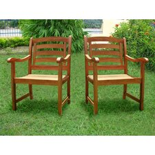 Montana Garden Chair Set (Set of 2)