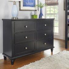 Isabella 6 Drawer Dresser