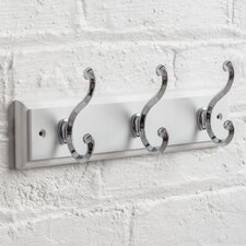 Providence Scroll Wall Mounted Coat Rack