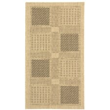 Isaiah Sand/Black Outdoor Rug
