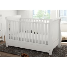 Stella Sleigh Dropside Convertible Cot Bed
