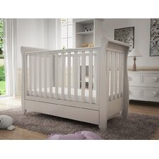Eva Sleigh Dropside Convertible Cot Bed