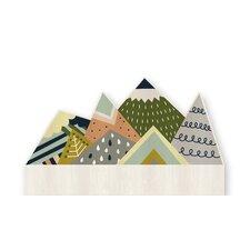 Mountains Kids Headboard
