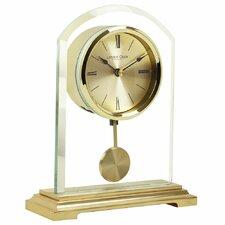 Gold Arch Pendulum Mantel Clock