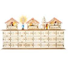 Holly Jolly Christmas Led Advent Sleigh