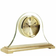 Gold Napoleon Mantel Clock
