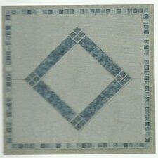 30,5 cm x 30,5 cm Mosaikfliese Carrara aus PVC