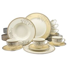 Villi Medici 30 Piece Dinnerware Set, Service for 6
