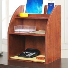 Georgette Desktop Organizer with Shelf