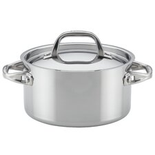 3.5 qt. Tri-Ply Covered Clad Stainless Steel Soup Pot