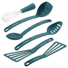 6-Piece Nylon Non-Stick Tools and Gadgets Utensil Set