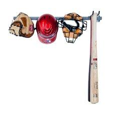 5 Baseball Small Wall Mounted Sports Rack