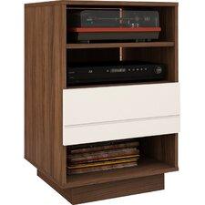 Vicknair Wood Audio Cabinet