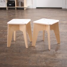 Wooden Kids Stool (Set of 2)