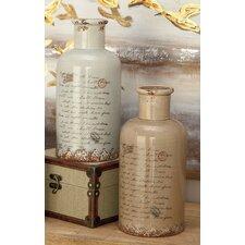 Vintage Ceramic Vase (Set of 2)
