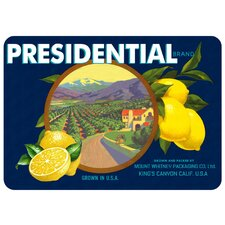 Quick View Twila Presidential Lemons Kitchen Mat