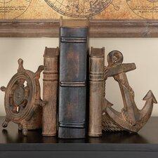 Polystone Decorative Bookends (Set of 2)