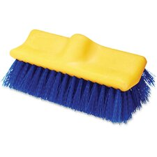 Plastic Block Floor Scrub Broom Head (Set of 6)