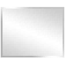Rectangular Frameless Bathroom/Vanity Wall Mirror