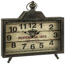 Shelf Mantel Clock