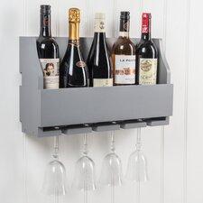 Lewiston Wine Bottle and Glass Rack