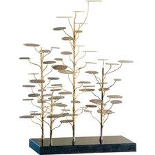 Eucalyptus Tree Decorative Accent Sculpture