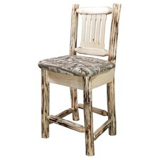"Montana 30"" Bar Stool with Cushion"