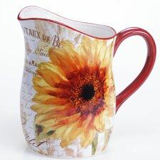 Paris Sunflower 96 oz. Pitcher