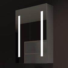"Verano 24"" x 32"" Surface Mount Medicine Cabinet with LED Lighting"