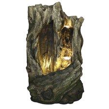 Cavern Cascade Resin Fountain with Light