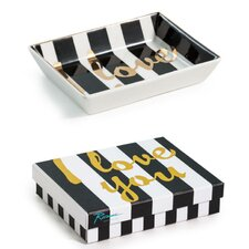 Tray Chic I Love You Accent Tray