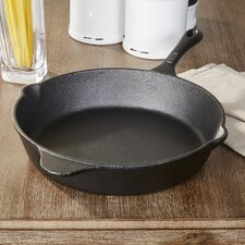 "Wayfair Basics Cast Iron 12"" Non-Stick Frying Pan"