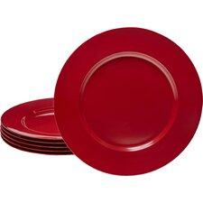 """Calypso Basics 11"""" Melamine Dinner Plate (Set of 6)"""