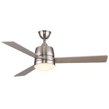 """52"""" Loraine 3-Blade Ceiling Fan with Remote"""