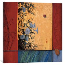 'Artist's Garden' Painting Print on Canvas
