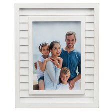 Water's Edge Shutter Coastal Picture Frame