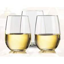 Unbreakable 16 Oz. Stemless Wine Glass (Set of 4)