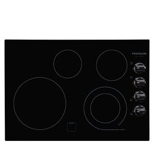 """30"""" Electric Cooktop with 4 Burners"""