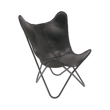 Real Leather Side Chair