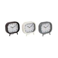 Metal Table Clock (Set of 3)
