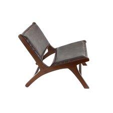 Genuine Leather Lounge Chair