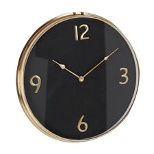 """Stainless Steel 18"""" Wall Clock"""