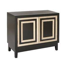 2 Door Wood Accent Cabinet
