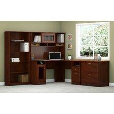 Coalton 4 Piece L-Shape Desk Office Suite