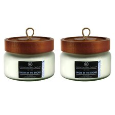 Heritage Snow by the Shore Jar Candle